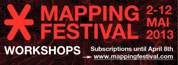MAPPING FESTIVAL 2013